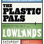 Italian band Lowlands on a double bill with us in Stockholm April 20