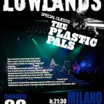 The Plastic Pals to Milan for a joint gig with Lowlands